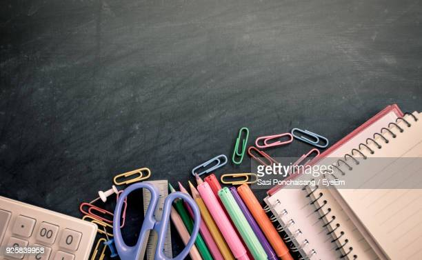 Close-Up Of School Supplies