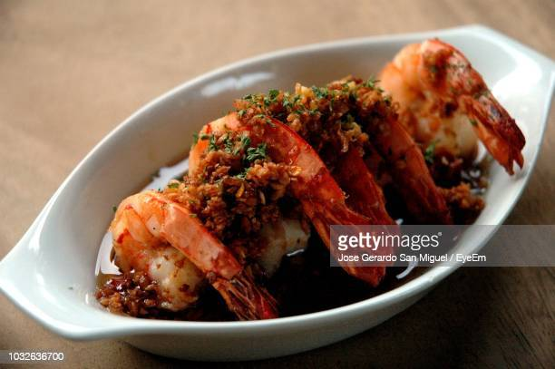 close-up of seafood in bowl on table - san stock pictures, royalty-free photos & images