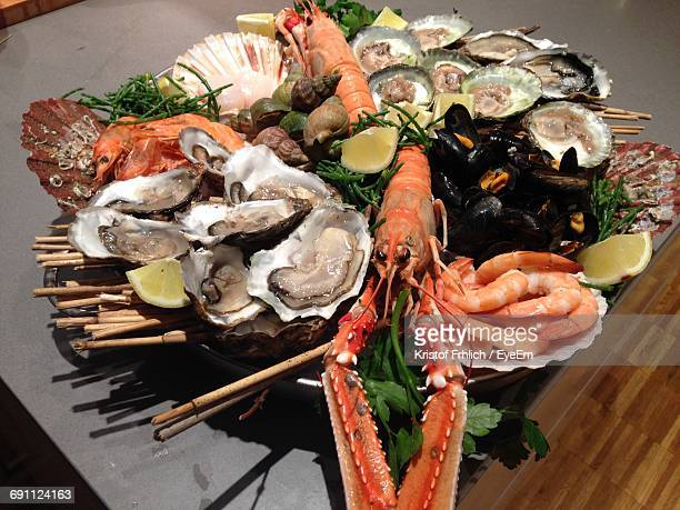 close-up of seafood - seafood stock pictures, royalty-free photos & images