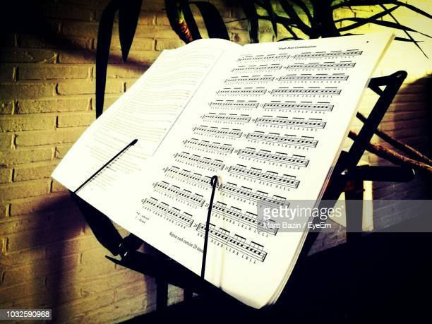Of Musical Symbols Stock Photos And Pictures Getty Images