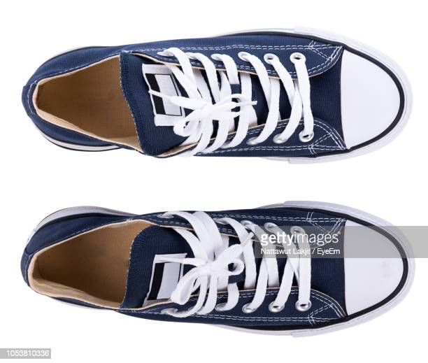 close-up of shoes against white background - shoes stock pictures, royalty-free photos & images