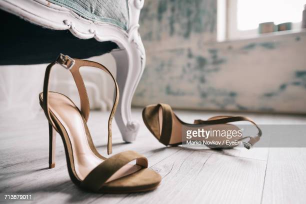 close-up of shoes - high heels stock pictures, royalty-free photos & images