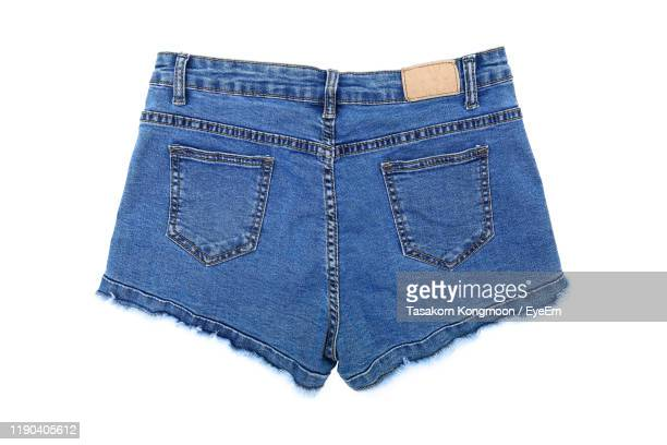 close-up of shorts on white background - shorts stock pictures, royalty-free photos & images