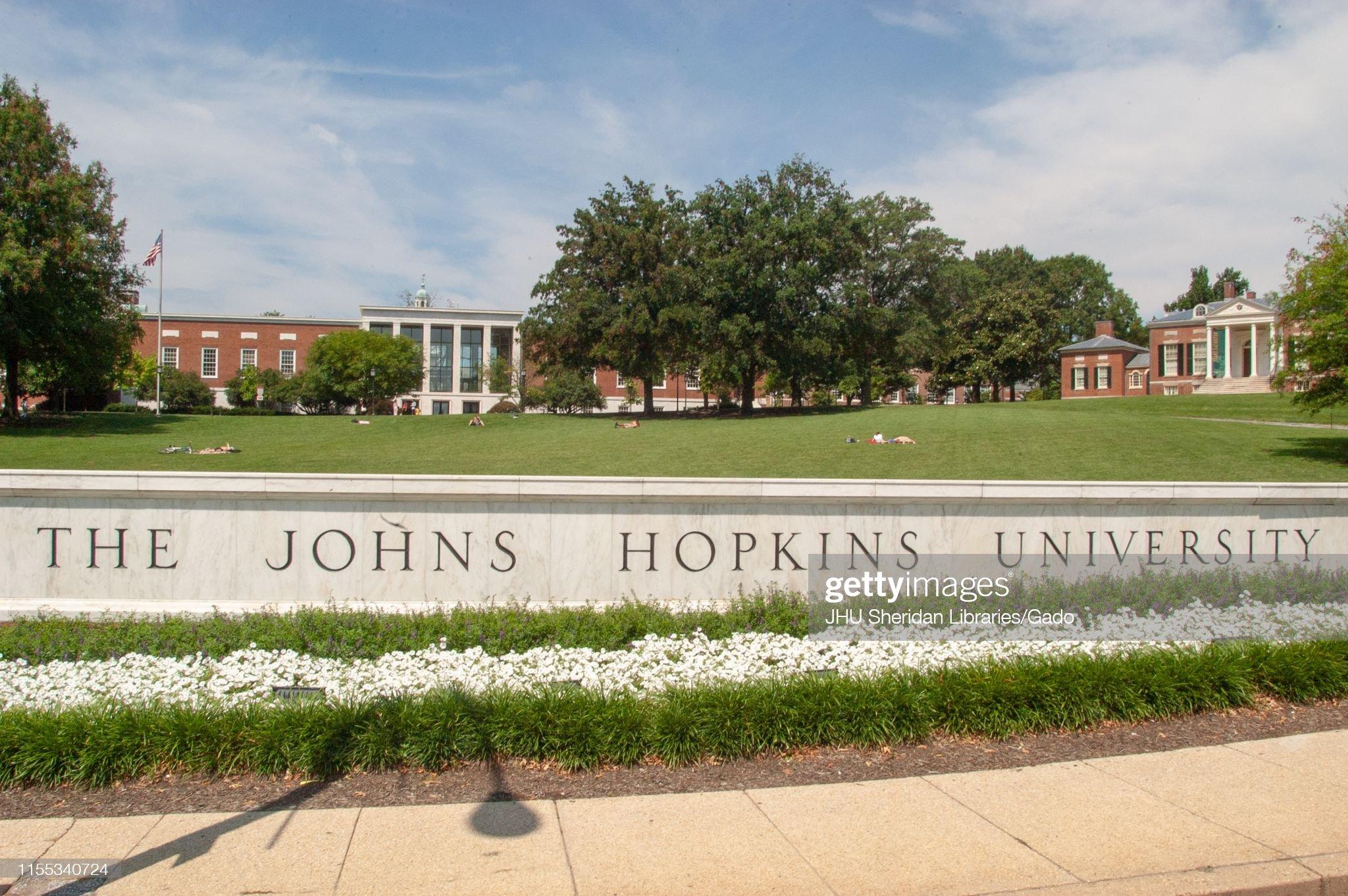 Johns Hopkins University : Fotografía de noticias