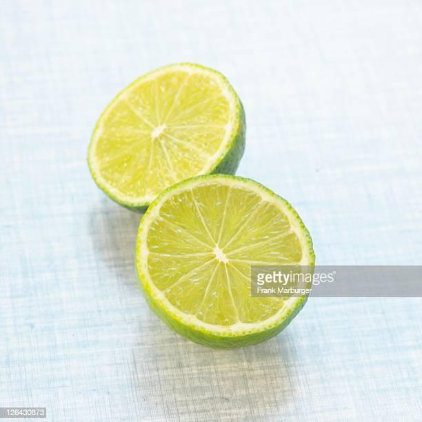 Close-up of slices of lemon