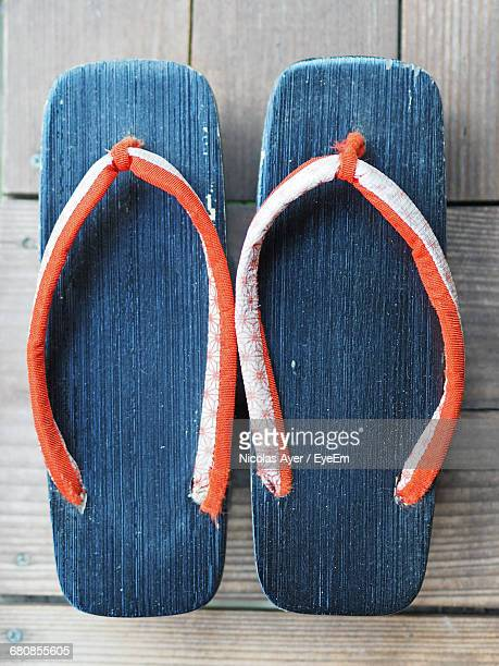 Close-Up Of Slippers