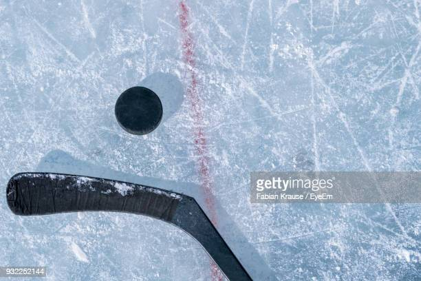 close-up of snow - ice hockey stock pictures, royalty-free photos & images