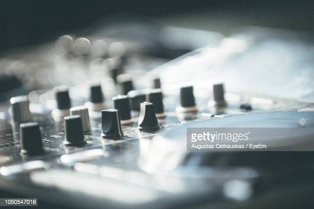 close-up of sound recording equipment - cetkauskas stock pictures, royalty-free photos & images
