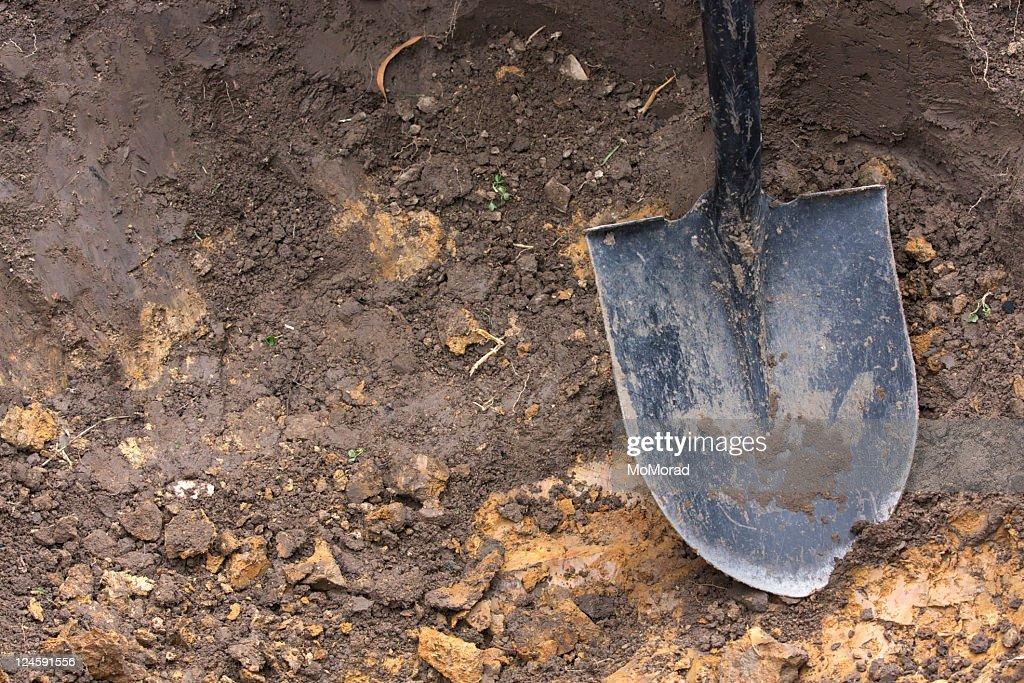 掘る : ストックフォト