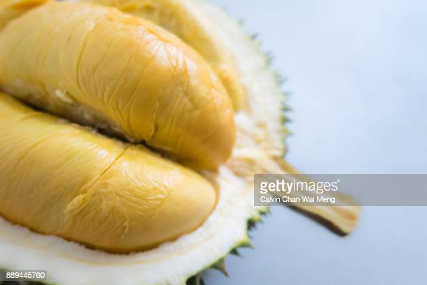 Close-Up of special breed 'Black Thorn' Durian