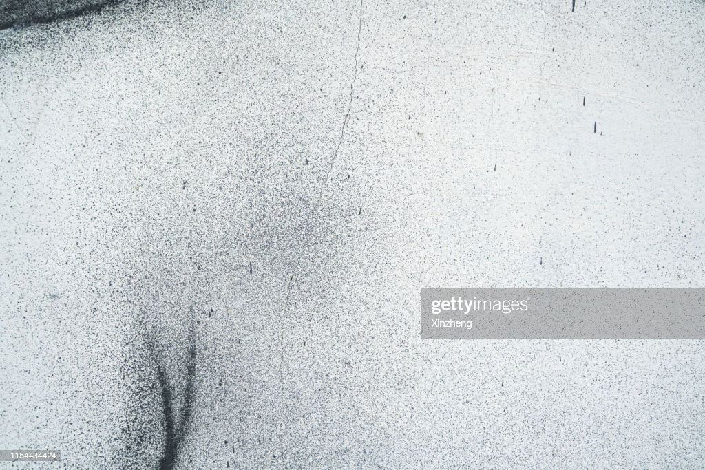 Close-Up Of Spray Paint On White Wall : Stock Photo