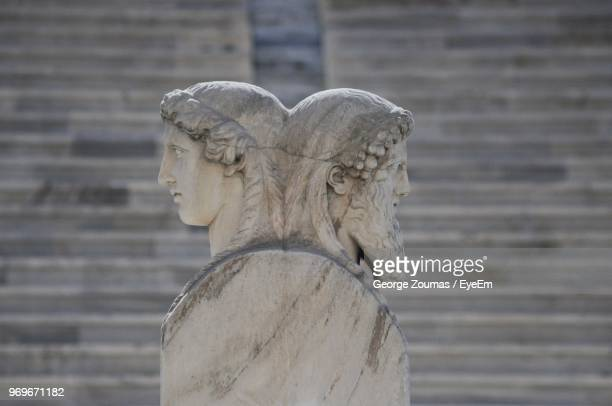 close-up of statue - male likeness stock pictures, royalty-free photos & images