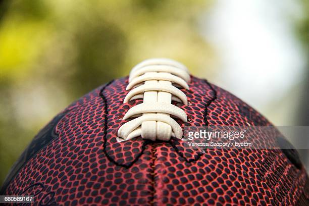 Close-Up Of Stick Of Football
