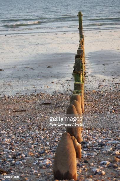 close-up of stones on beach - portsmouth england stock pictures, royalty-free photos & images