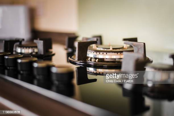 close-up of stove - malton stock pictures, royalty-free photos & images