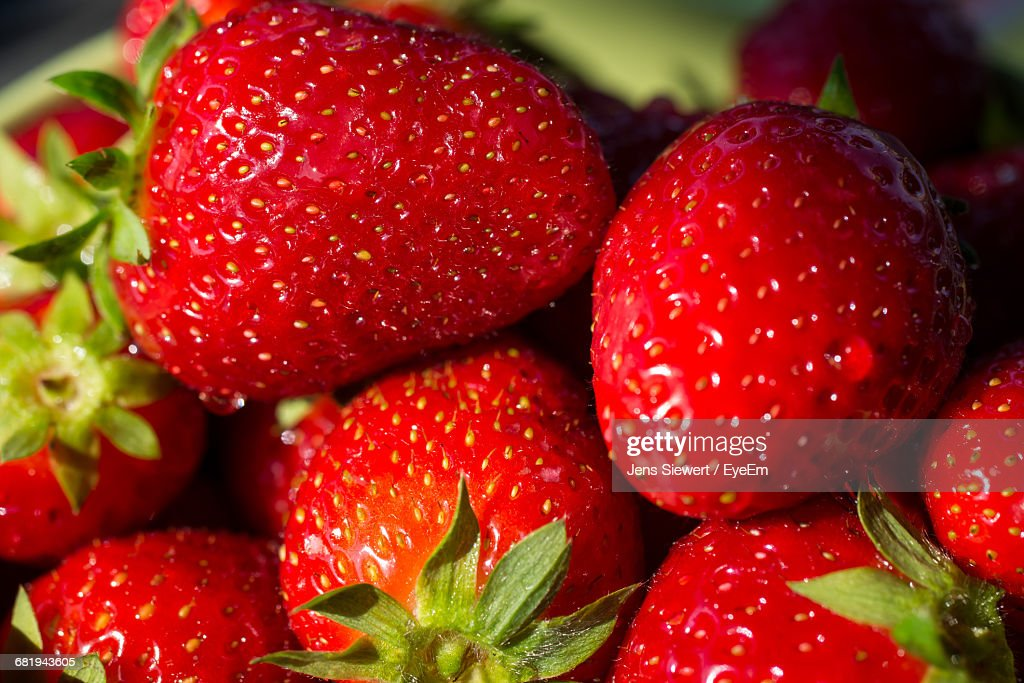 Close-Up Of Strawberries : Stock-Foto