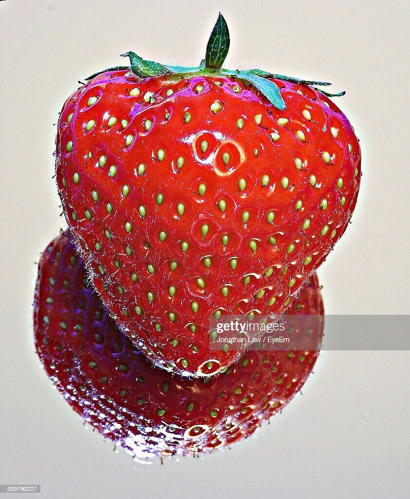 Close-Up Of Strawberry : Foto stock