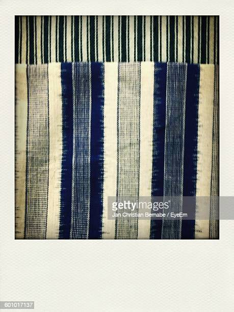 close-up of striped fabric - transferbild stock-fotos und bilder