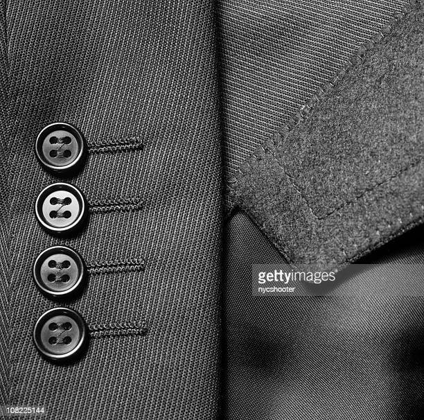 close-up of suit jacket buttons - jacket stock pictures, royalty-free photos & images
