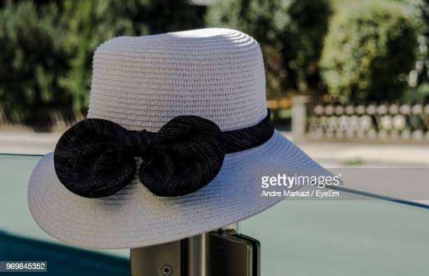 Close-Up Of Sun Hat At Park