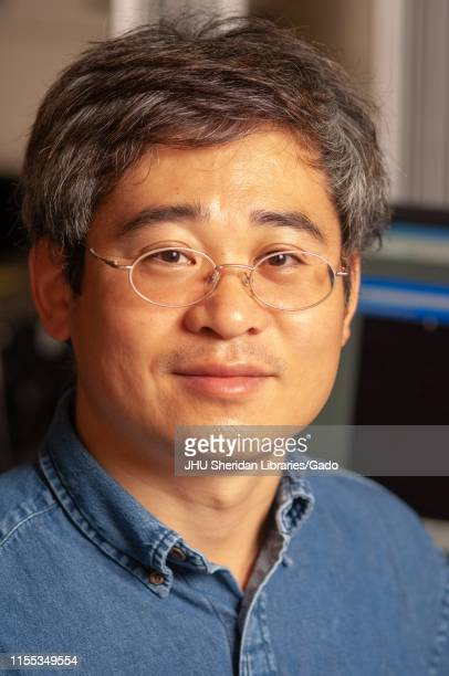 Closeup of Sung Hoon Kang Assistant Professor in the Department of Mechanical Engineering at the Johns Hopkins University Baltimore Maryland November...