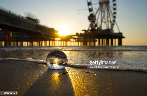 close-up of sunglasses on beach - the hague stock pictures, royalty-free photos & images