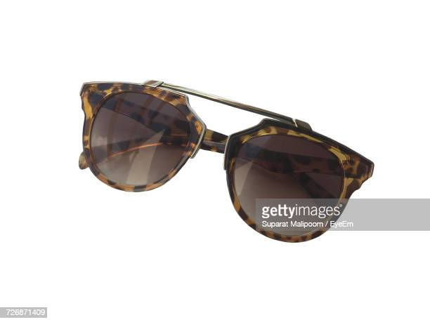 Close-Up Of Sunglasses On White Background