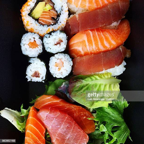 Close-Up Of Sushi
