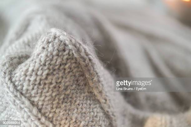 Close-Up Of Sweater