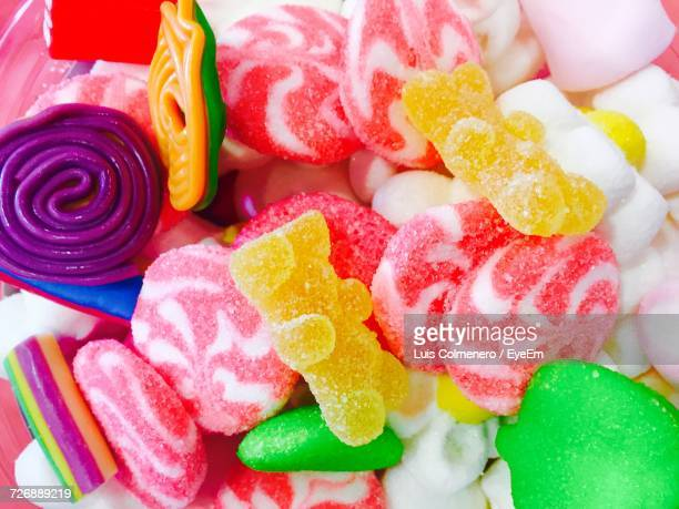 Close-Up Of Sweet Candies