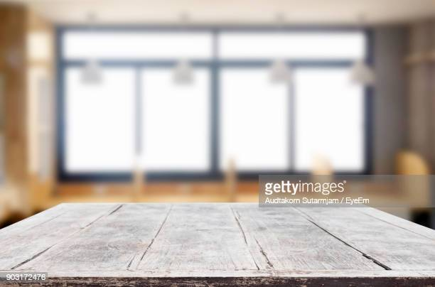 close-up of table - plank timber stock photos and pictures
