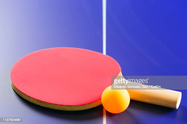 close-up of table tennis - table tennis racket stock pictures, royalty-free photos & images