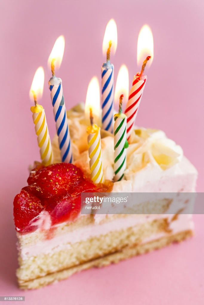 Enjoyable Closeup Of Tasty Beautiful Appetizing Elegant Piece Of Birthday Personalised Birthday Cards Petedlily Jamesorg