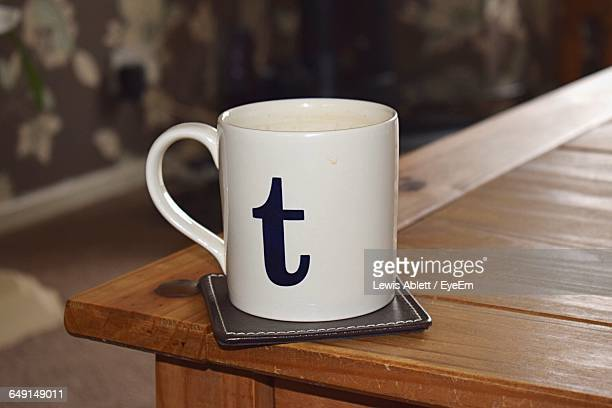 Close-Up Of Tea Mug On Table