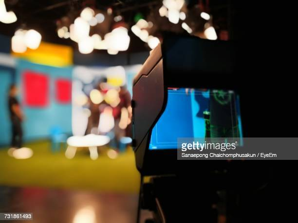 close-up of television camera - film studio stock pictures, royalty-free photos & images