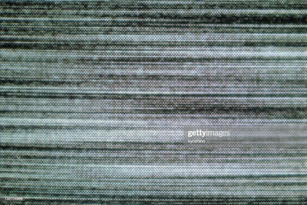 Close-up de estática : Foto de stock
