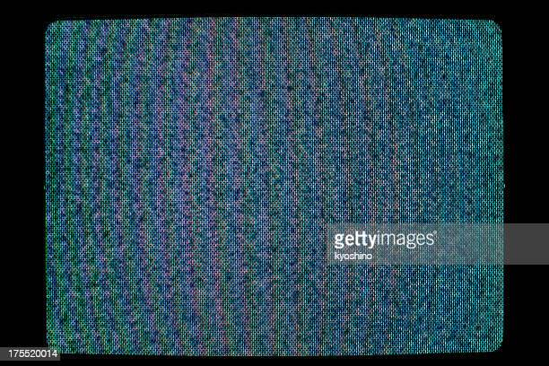 close-up of television static - grainy stock pictures, royalty-free photos & images
