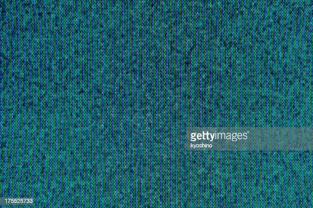 Close-up of television static