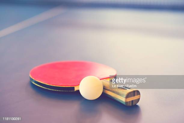 close-up of tennis - table tennis racket stock pictures, royalty-free photos & images