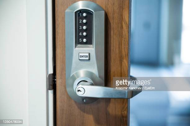 close-up of text on door - order stock pictures, royalty-free photos & images