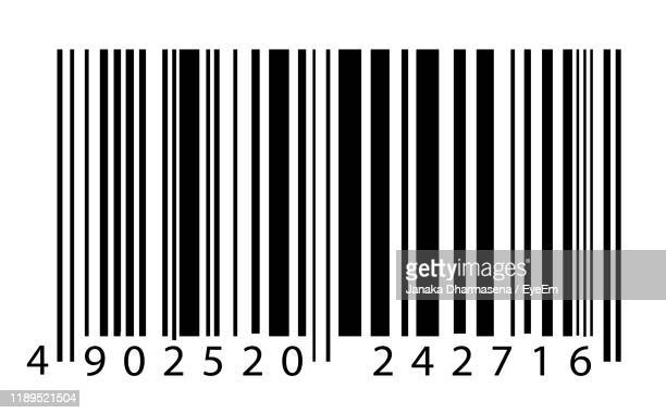 close-up of text on white background - bar code stock pictures, royalty-free photos & images