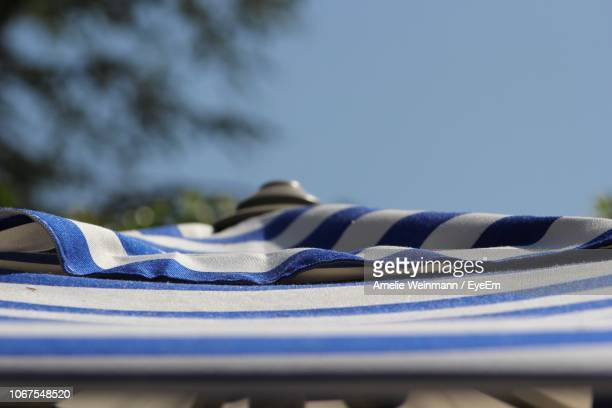 Close-Up Of Textile Against Sky