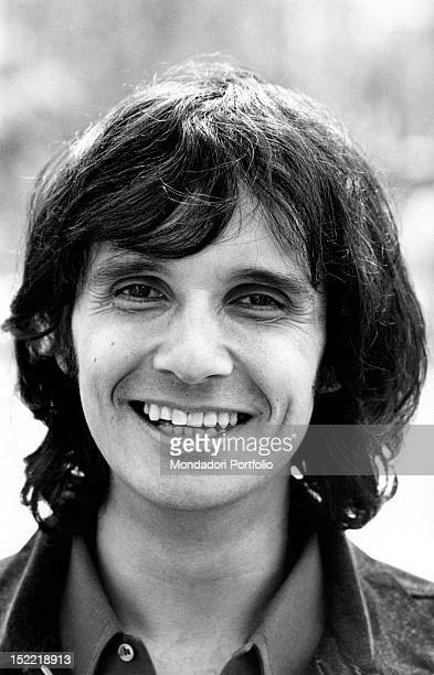 Closeup of the Brasilian singer Roberto Carlos Milan 1970