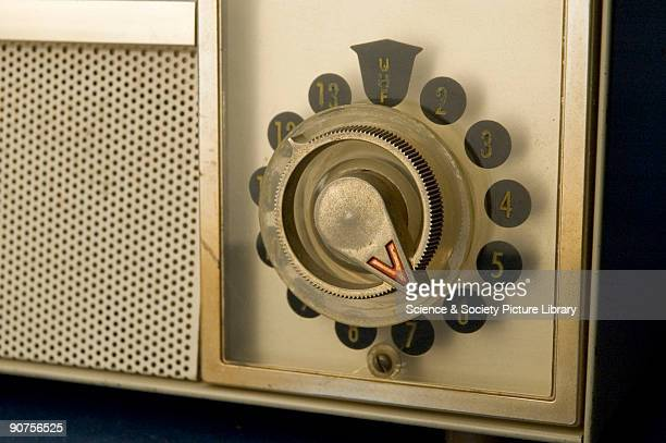 A closeup of the dial This 17inch TV set cost $17995 when new and featured a novel swivel screen In the 'Tandem' version the screen could be...