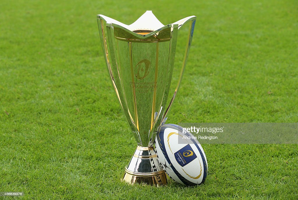 2014/15 European Rugby Champions Cup and European Rugby Challenge Cup Tournament Launch : News Photo
