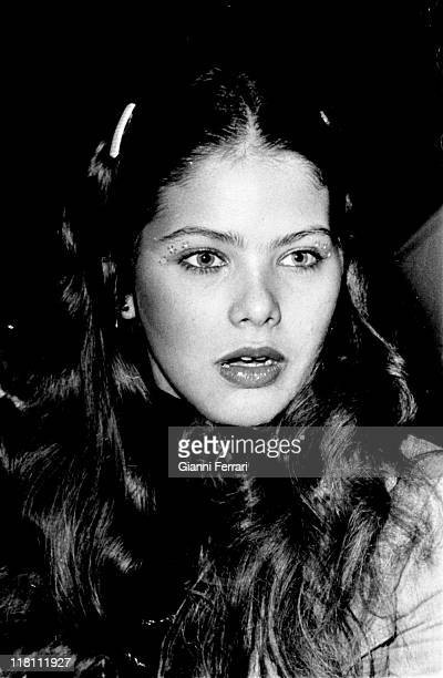 Closeup of the Italian actress Ornella Muti Madrid Spain