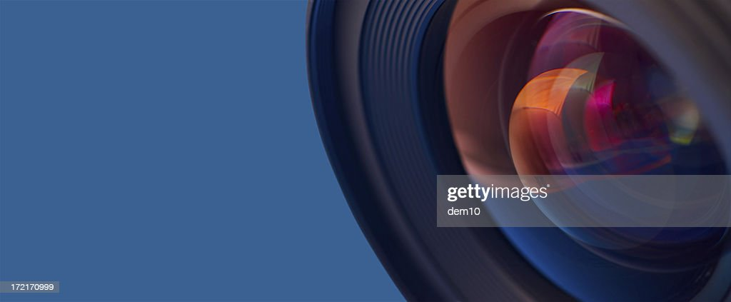 Close-up of the lens : Stock Photo