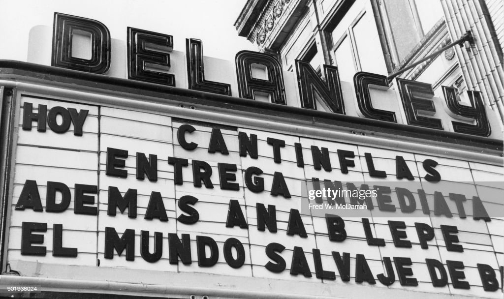 New Delancey Marquee : News Photo