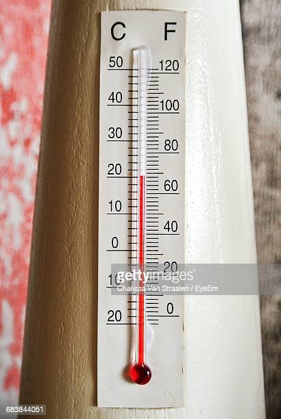 Close-Up Of Thermometer