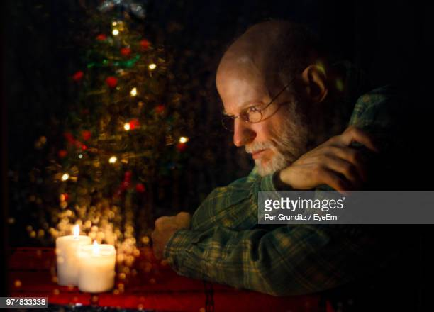 Lonely On Christmas.World S Best Lonely Christmas Trees 2017 Stock Pictures